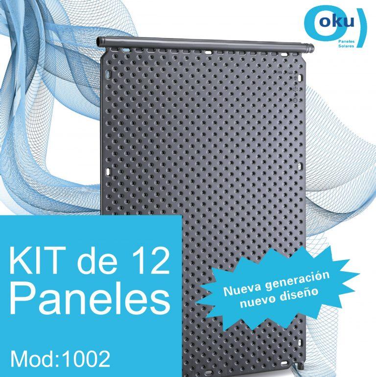 Kit 12 Paneles Solares M1002