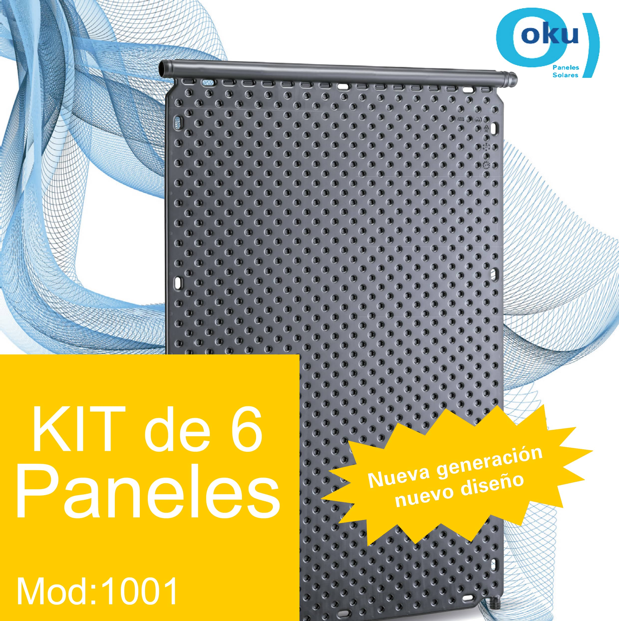 Kit 6 Paneles Solares M1001