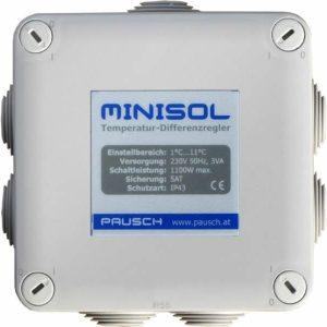 Panel de Control Minisol