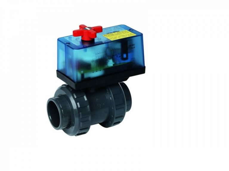 Válvula de bola bidireccional PVC 63 mm